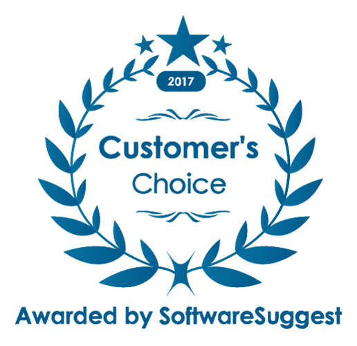 Customer Choice By Software Suggest 2017